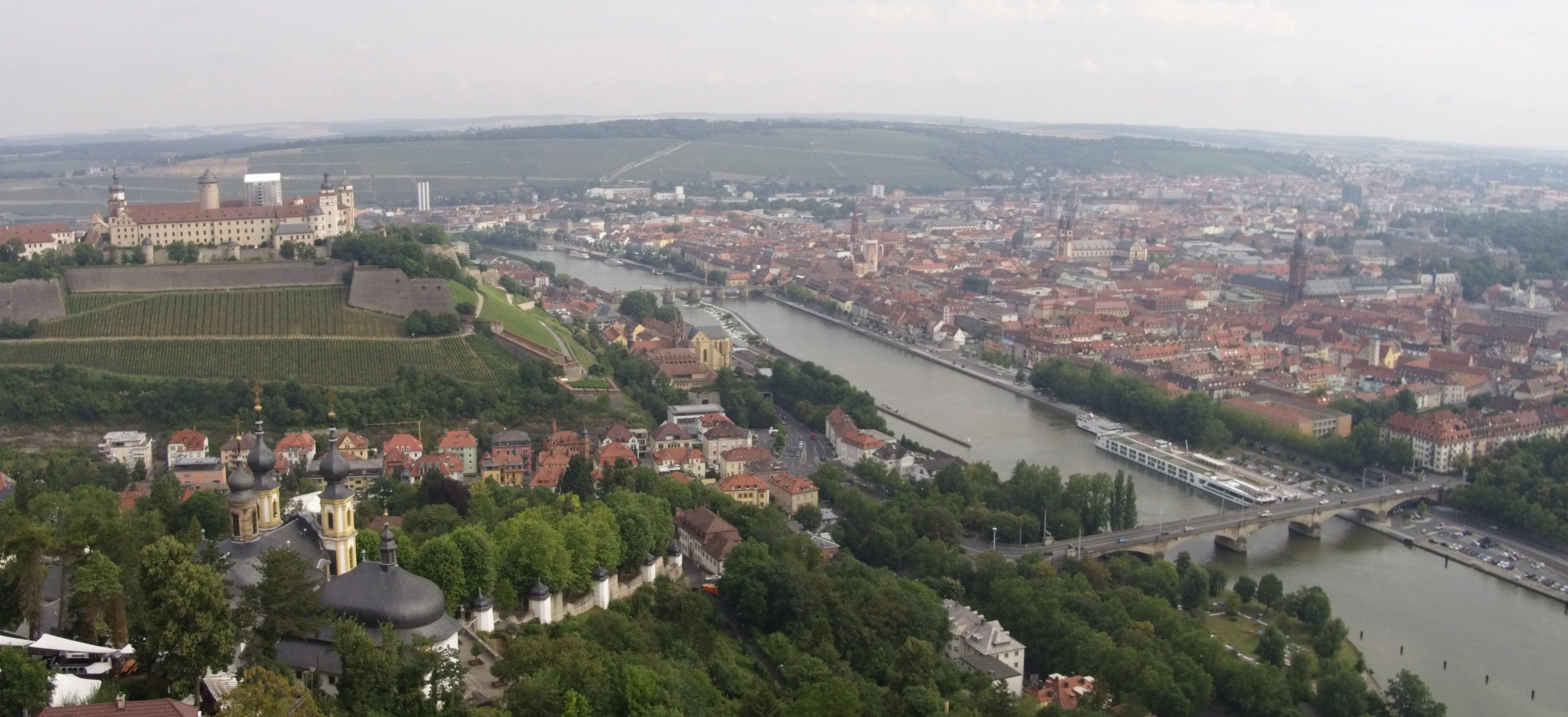 Zentral in Würzburg gelegen